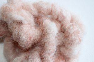 Schafwollgarn rosa