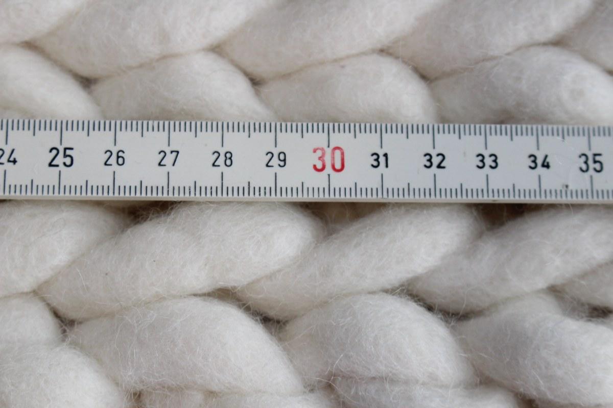 Schafwollteppich maßgefertigt