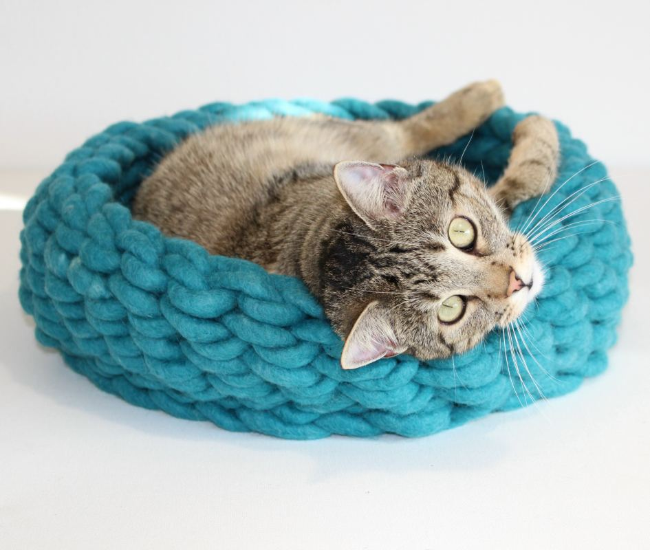 Farbe Katzenkorb